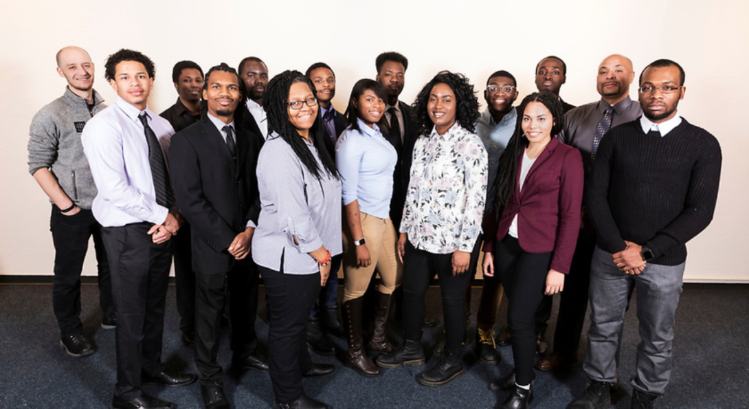 group photos of the 2017-2018 cohort